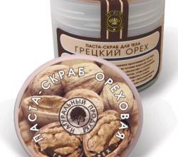 Натуральная паста-скраб для тела «Ореховая» от Северная Жемчужина