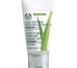 Успокаивающий увлажняющий лосьон для лица Aloe Soothing Moisture Lotion SPF 15 от The Body Shop