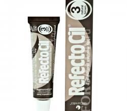 Краска для бровей и ресниц № 3 (Натуральный коричневый) от RefectoCil