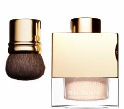 Минеральная рассыпчатая пудра, придающая сияние коже Skin Illusion (оттенок № 107 Beige) от Clarins