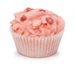 Десерт для ванны «Клубника со сливками» от Мыловаров