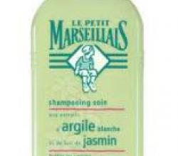 """Шампунь для жирных волос """"Белая Глина и Жасмин"""" от Le Petit Marseillais"""