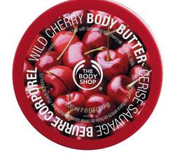 "Масло для тела ""Дикая вишня"" от The body Shop"