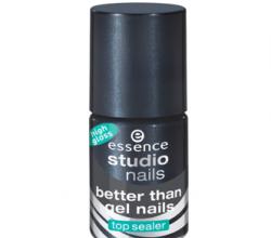 Верхнее покрытие для ногтей Top Sealer High Gloss (серия Better Than Gel Nails) от Essence