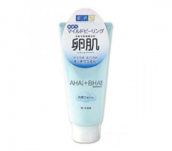 Пенка-пилинг для умывания Tamagohada AHA+BHA Daily Face Wash от Hada Labo