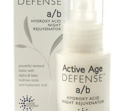 Сыворотка для лица с кислотами Active Age Defense A/B Hydroxy Acid Night Rejuvenator от Earth Science