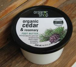 """Густое масло для ног """"Голубой кедр"""" от Organic Shop"""