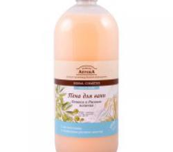 "Пена для ванн ""Оливка и рисовое молочко"" от Зеленая Аптека"