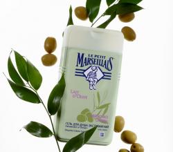 Гель для душа с молочком оливы от Le Petit Marseillais