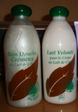 Крем для душа и молочко для тела Les Plaisirs Nature от Yves Rocher