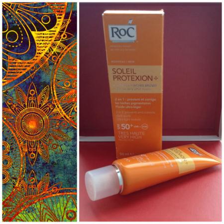 Солнцезащитный крем Soleil ProteXion 50+ 2 в 1 от RoC