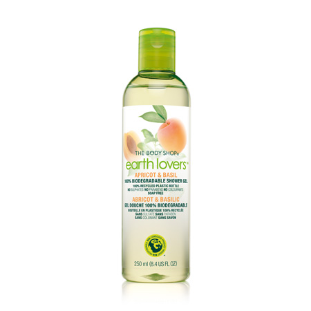 Гель для душа Earth Lovers Абрикос и Базилик (Apricot & Basil Shower Gel) от The Body Shop