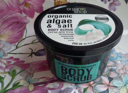 """Скраб для тела """"Атлантические водоросли"""" от Organic Shop"""