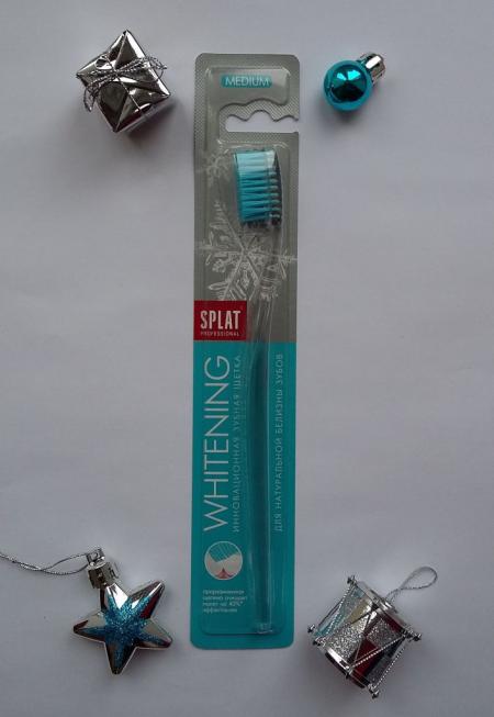 Зубная щётка Whitening (medium) от Splat Professional