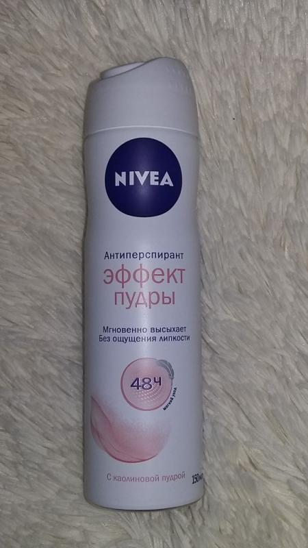 Антиперспирант Эффект пудры от Nivea