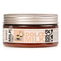 """Гель-скраб для душа """"Молоко и кофейный брауни со сливочным кремом"""" от Dolce Milk"""