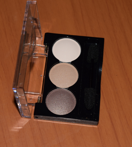 Трио теней для век Naturel eyeshadows от Lamel