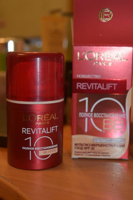 ББ-крем для лица REVITALIFT Полное Восстановление 10 от L'Oreal