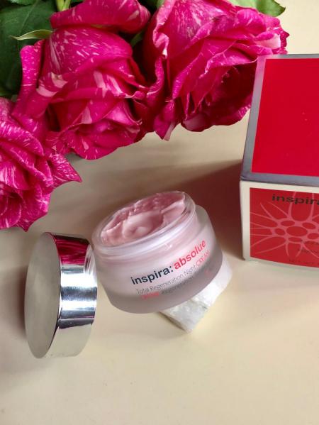 Ночной крем для лица Total regeneration night cream (rich) Inspira:absolue от Janssen Cosmetics