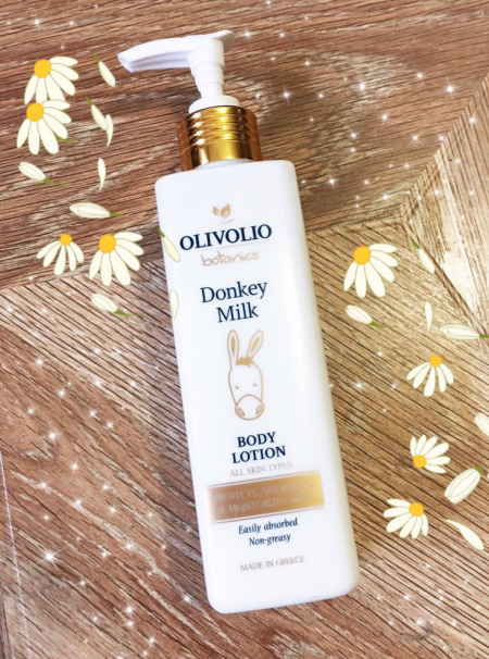 Лосьон для тела для всех типов кожи Donkey Milk от Olivolio Botanics