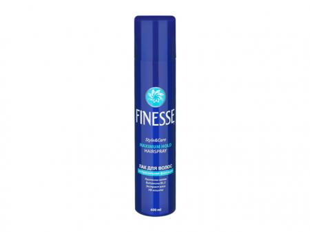 Лак для волос экстрасильной фиксации Style & Care от Finesse