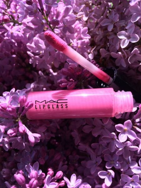 Блеск для губ Lipglass (оттенок № AC2 Pink Nouveau) от MAC