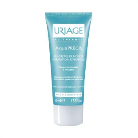 Освежающий гель-крем для нормальной и комбинированной кожи лица Aqua Precis от Uriage