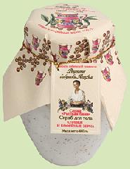 Скраб для тела Сливки и кофейные зерна от Рецепты бабушки Агафьи