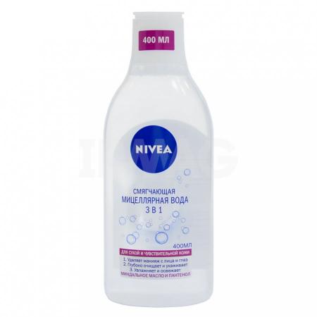 Смягчающая мицеллярная вода 3в1 от Nivea
