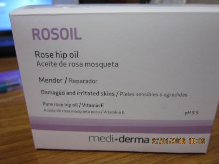Масло шиповника Rosoil Mediderma от Sesderma