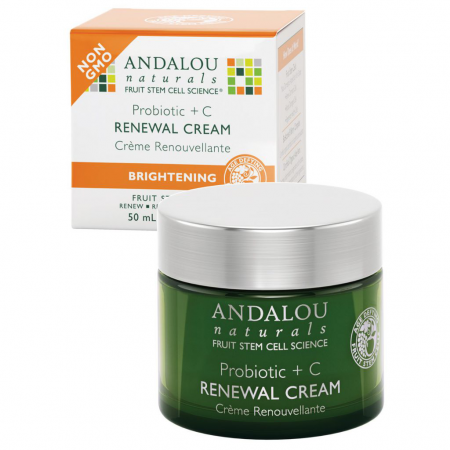 Крем для лица Renewal cream Probiotic +C от Andalou Naturals