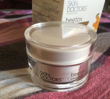 Омолаживающий крем для лица Beetox от Skin Doctors