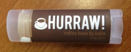 Бальзам для губ Coffee bean lip balm от Hurraw!
