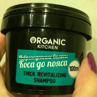 """Шампунь для волос """"Коса до пояса"""" от Organic kitchen"""