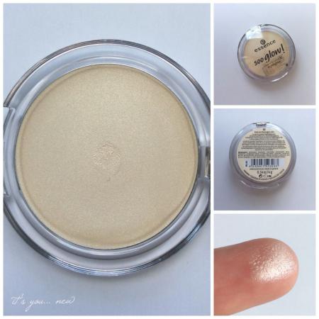 Компактная пудра с эффектом мерцания Soo Glow! Cream to Powder Highlighter (оттенок № 10 Look on the bright side) от Essence