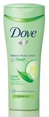 """Лосьон для тела """"Прикосновение свежести"""" от Dove"""