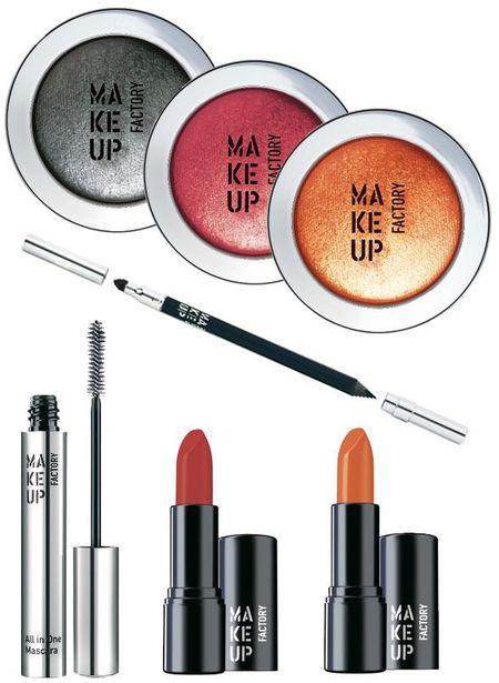 Тени для век от Make Up Factory