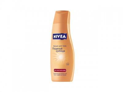 """Увлажняющий лосьон """"Поцелуй солнца"""" для смуглой кожи от Nivea"""