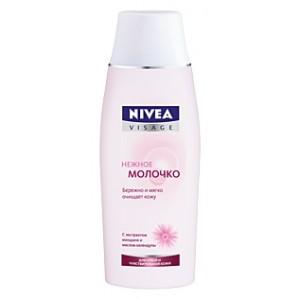 Нежное молочко для сухой и чувствительной кожи от NIVEA