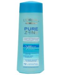 Оздоравливающий очищающий тоник  Pure Zone от L'Oreal