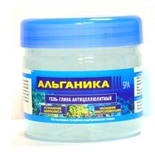 Антицеллюлитный гель-глина от Альганика