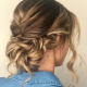 Красивые причёски на волосы до плеч