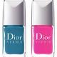 Набор лаков для ногтей Birds of Paradise Nail Lacquer Duo for Tips & Toes (набор оттенков № 002 Bahia) от Dior