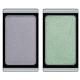 Тени для век Eyeshadow duochrome (оттенки 278 Violet gemstone и 246 Green atlantis) от Artdeco