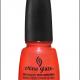 Неоновый лак для ногтей (оттенок № 1092 Surfin`For Boys) от China Glaze