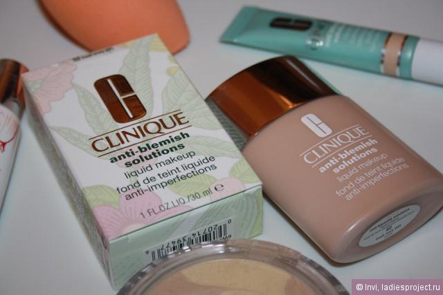 Тональный крем для проблемной кожи Anti-Blemish Solutions Liquid Makeup (оттенок 02 ivory) от Clinique фото 1