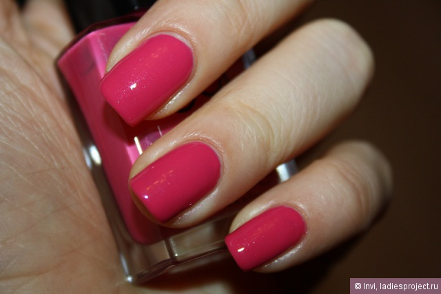 Лак для ногтей Gel Finish (оттенок Parfait Pink) от Avon фото 3