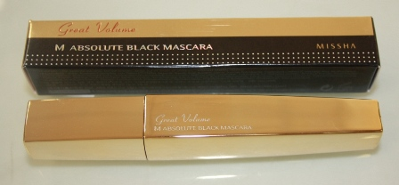 "Тушь для ресниц ""M Absolute Black Mascara"" Great Volume от Missha фото 1"
