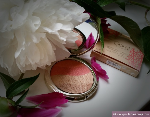 Иллюминатор для лица Coral island Golden Touch Highlighter от Pupa фото 4
