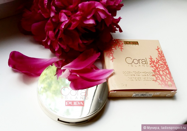 Иллюминатор для лица Coral island Golden Touch Highlighter от Pupa фото 3